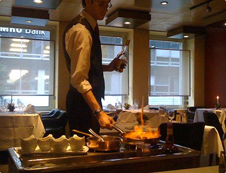 Beef Club - flambéed with Cognac