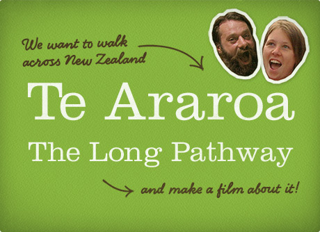 Film about walking 1800 miles across New Zealand