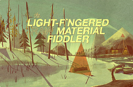 The Light-Fingered Raw Material Fiddler (1981)
