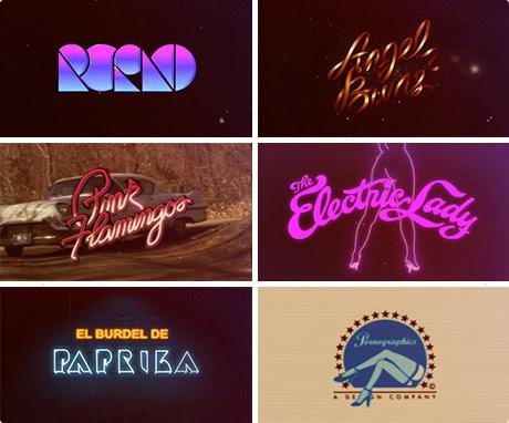 Pornographics - Vintage Porn Logos