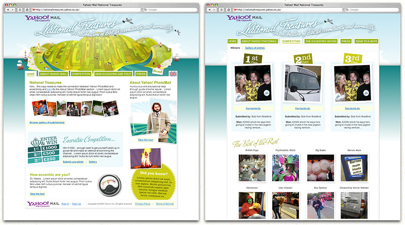 Yahoo! Mail - National Treasures
