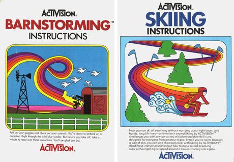 Atari Game Manuals