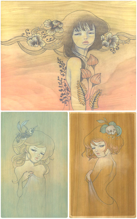 The art of Audrey Kawasaki