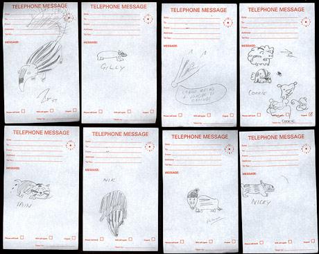 Badger drawings