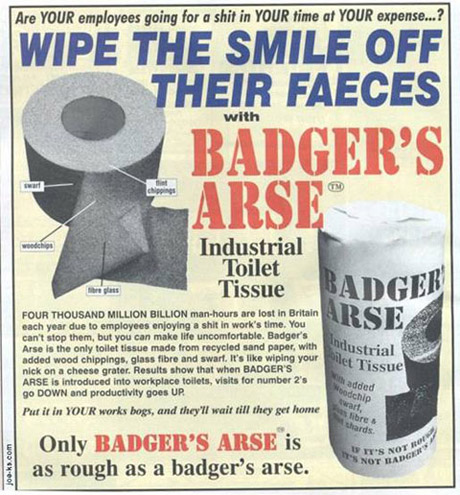 Badgers Arse
