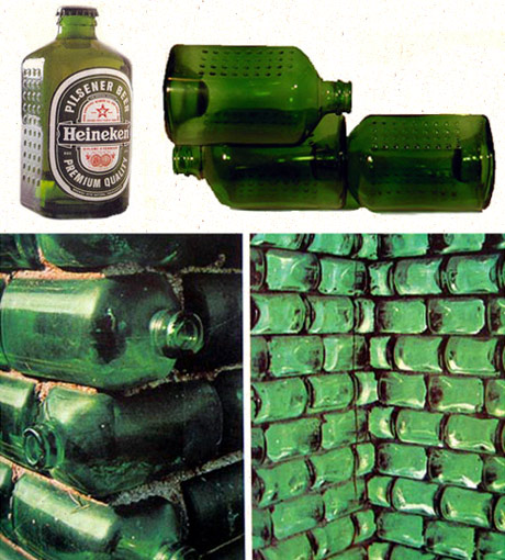 beer bottle bricks
