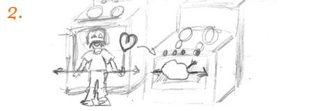 Cat eat poop doodles