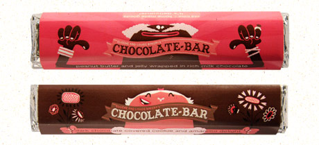 great packaging chocolate bars