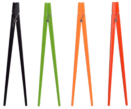 Clothes Peg Chopsticks