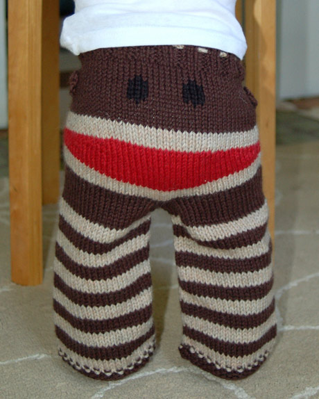 Knitting Pattern For Sock Monkey Pants : Cranky Pants Made in England