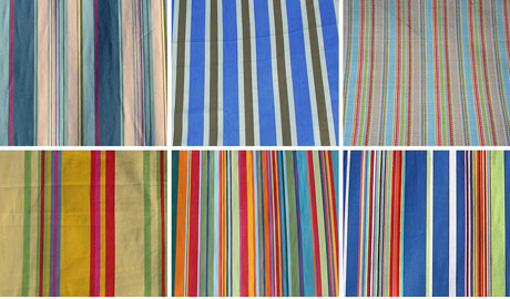 stripey deck chair fabric