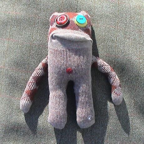 Sock monster called Earl