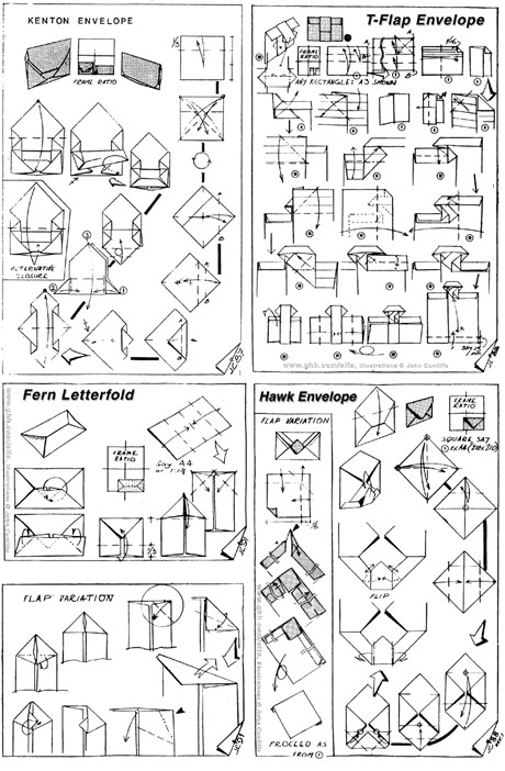 envelope folding instructions