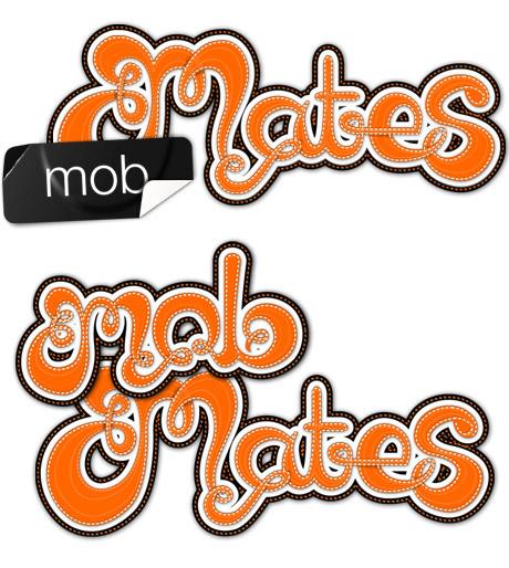 Mob Mates logo concepts