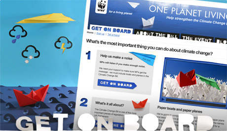 WWF Get on Board Help strengthen the Climate Change Bill