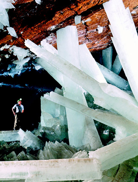 the world's largest known natural crystals
