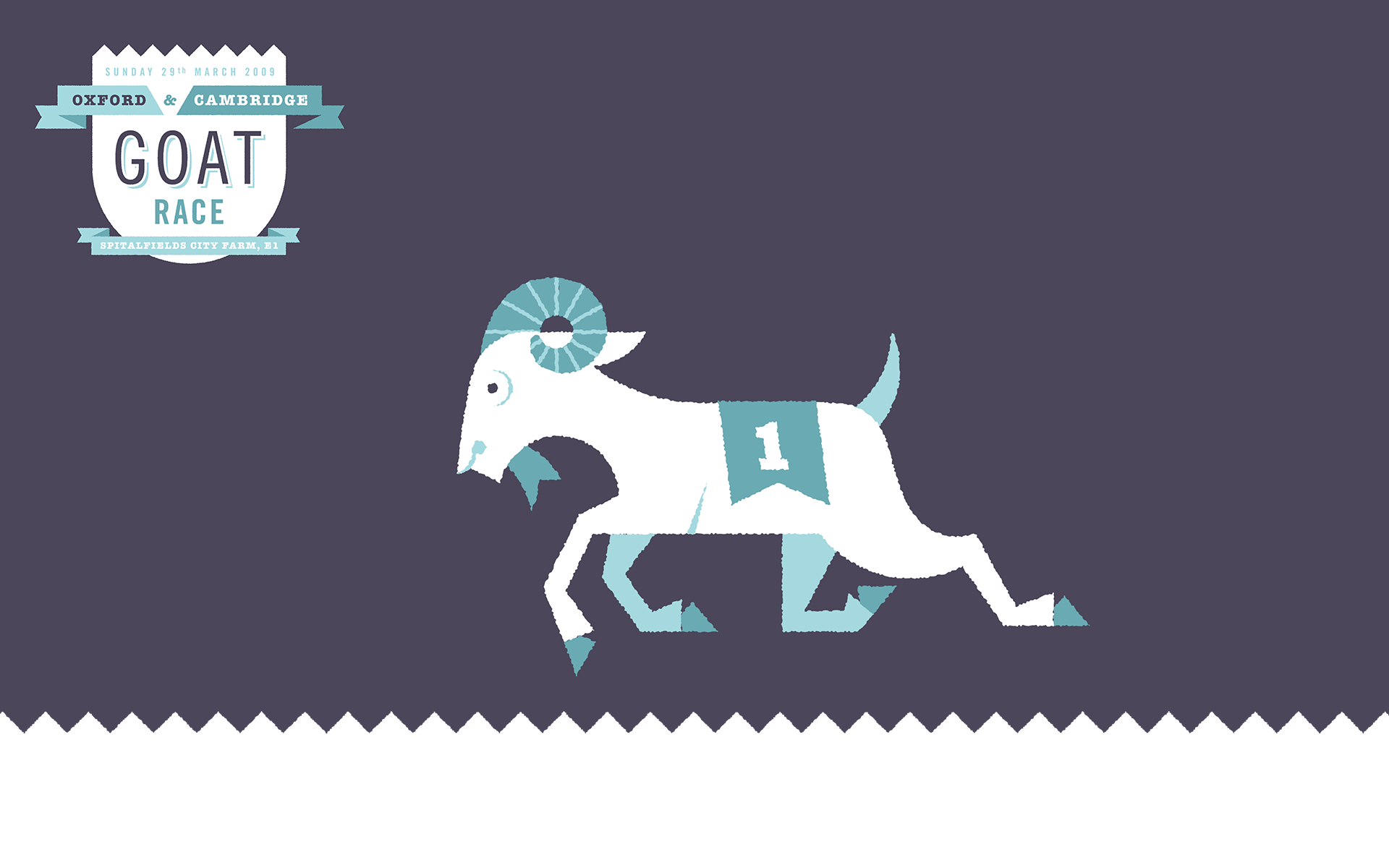 running goat one pictured Goat Animation