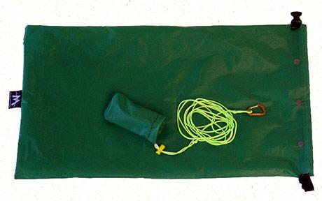 green bear bag hanging kit