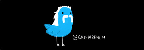 Follow Grip Wrench on Twitter