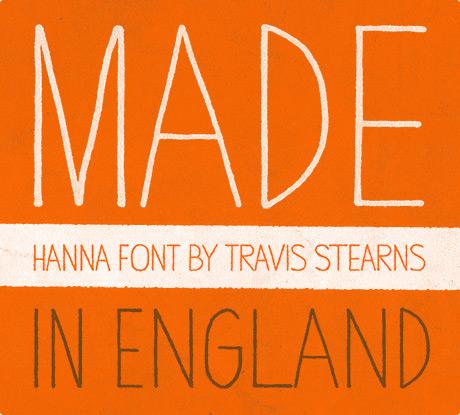 Hanna Typeface