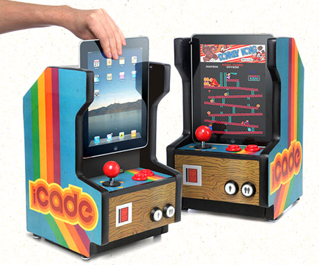 Think Geek, April fools, iCade