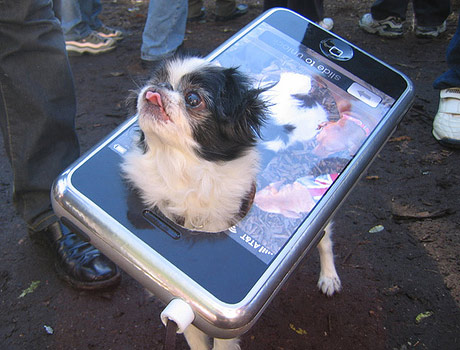 Dog iPhone costume