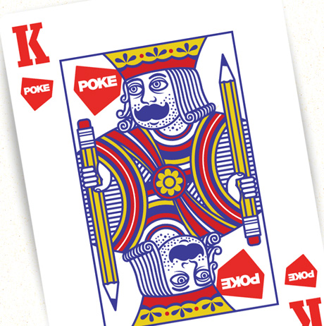 playing card, king Cookie
