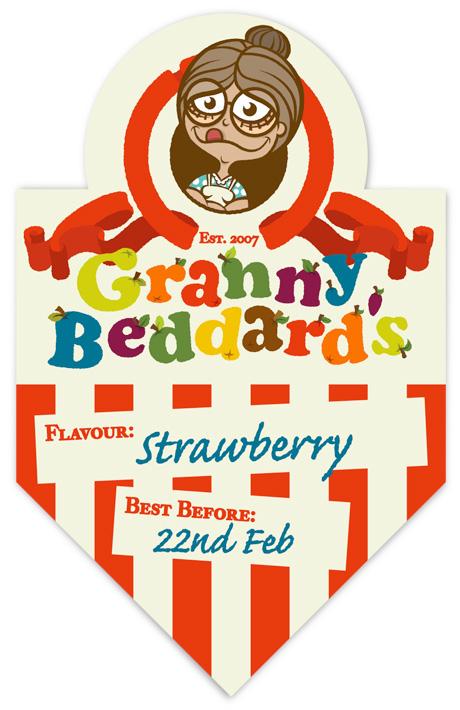 Granny Beddard's Jam label