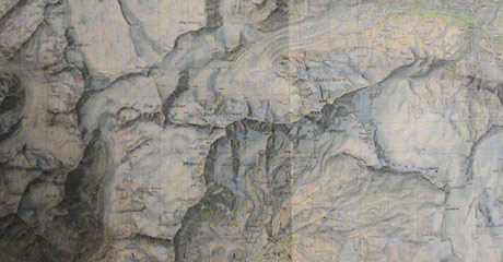 Map of the Mountains