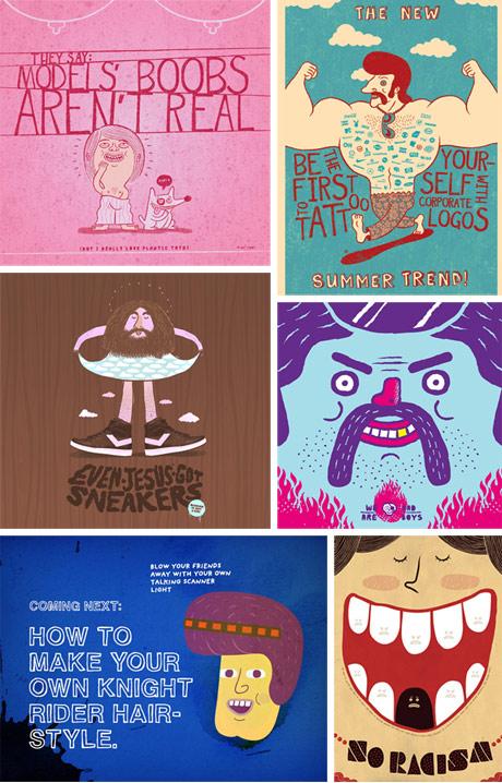 Mauro Gatti's illustrations