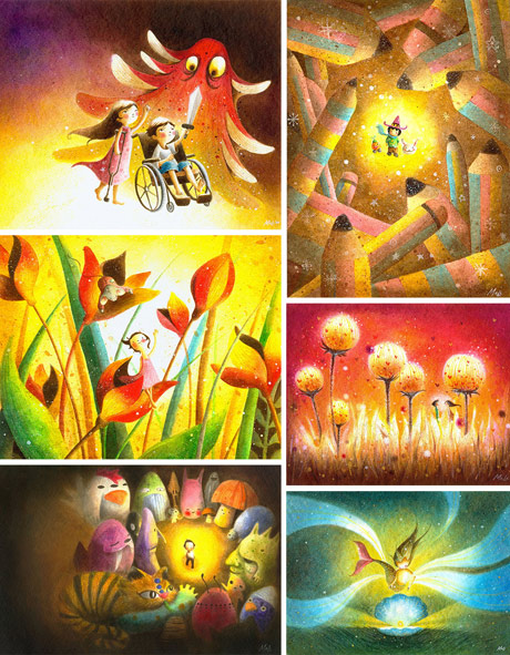 May Ann Licudine's Paintings