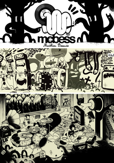 examples of the work of McBess - Matthieu Bessudo