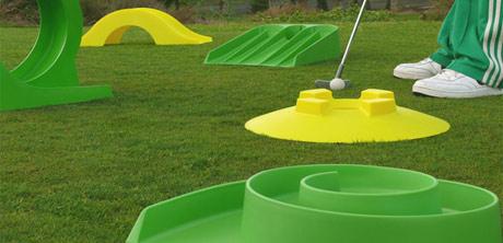 My minigolf set