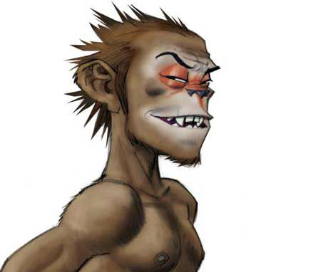 Gorillaz do monkey magic