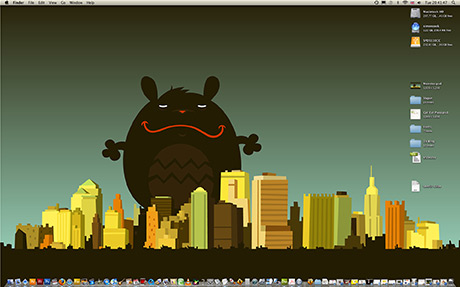 Monster Desktop Wallpaper