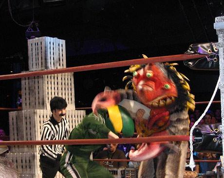 monster pro wrestling: kaiju big battel