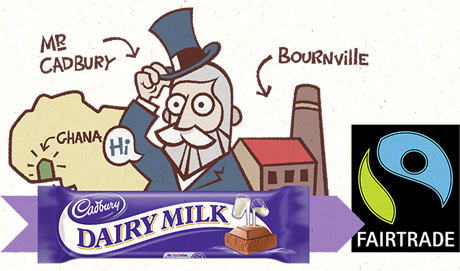 Cadbury Dairy Milk is going Fairtrade