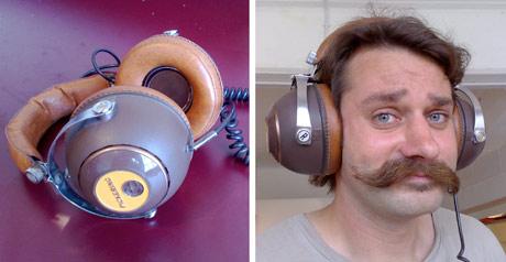 Old school Pickering PH-4955 headphones