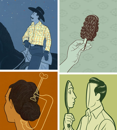 examples of nick dewar's illustration work