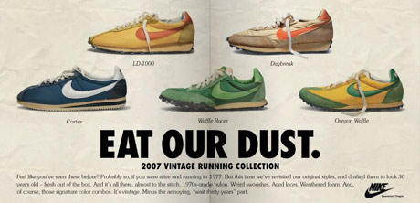nike vintage trainers