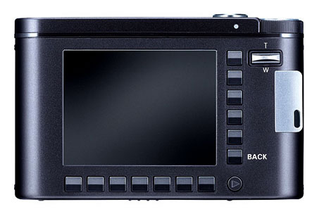 Samsung NV-10 back