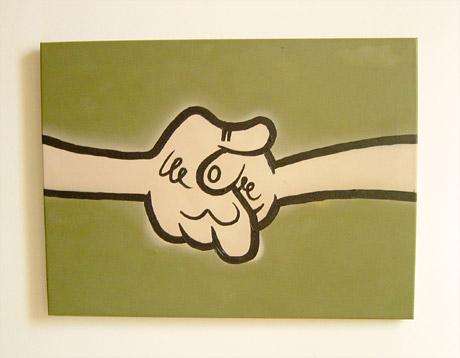 Handshake Painting