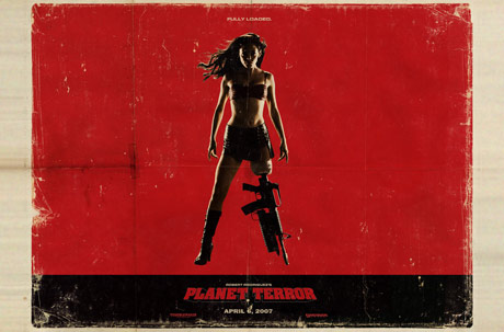 film poster of Planet Terror
