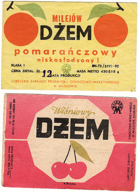 Polish Jam Labels
