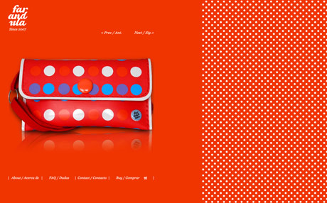 Polka dotted websites are nice