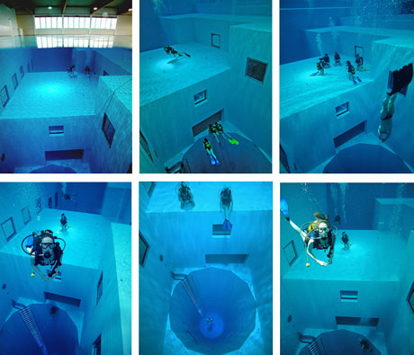 world s deepest swimming pool made in england