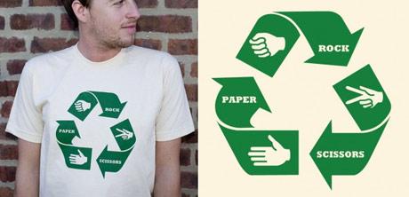 scissors paper stone t-shirt