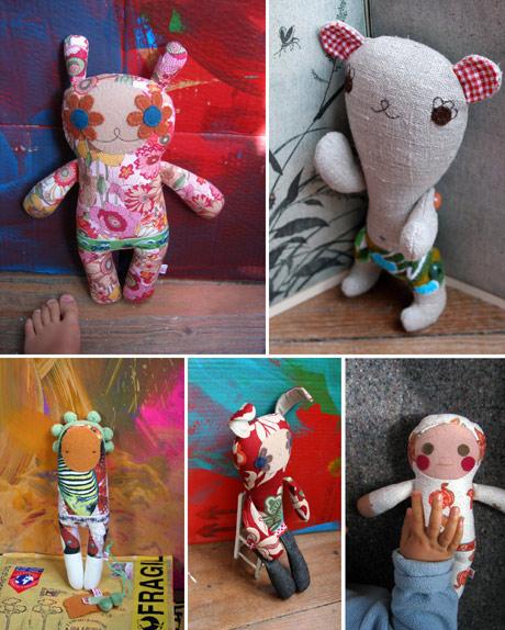 Rosa Pomar's Dolls