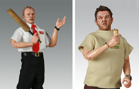 Shaun of the dead action figures