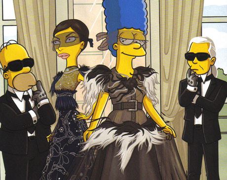 Simpsons Couture